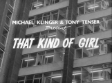 That Kind of Girl